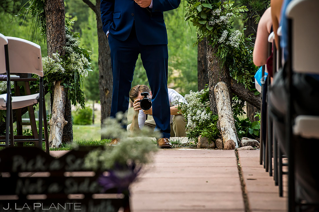 Lodge at Cathedral Pines Wedding | Colorado Springs Wedding Photographer | J. La Plante Photo