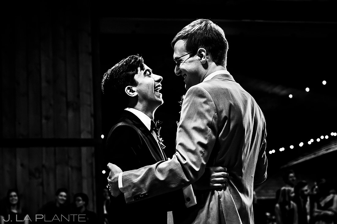 First dance | Larkspur Wedding | Denver Same Sex Wedding Photographer | J. La Plante Photo