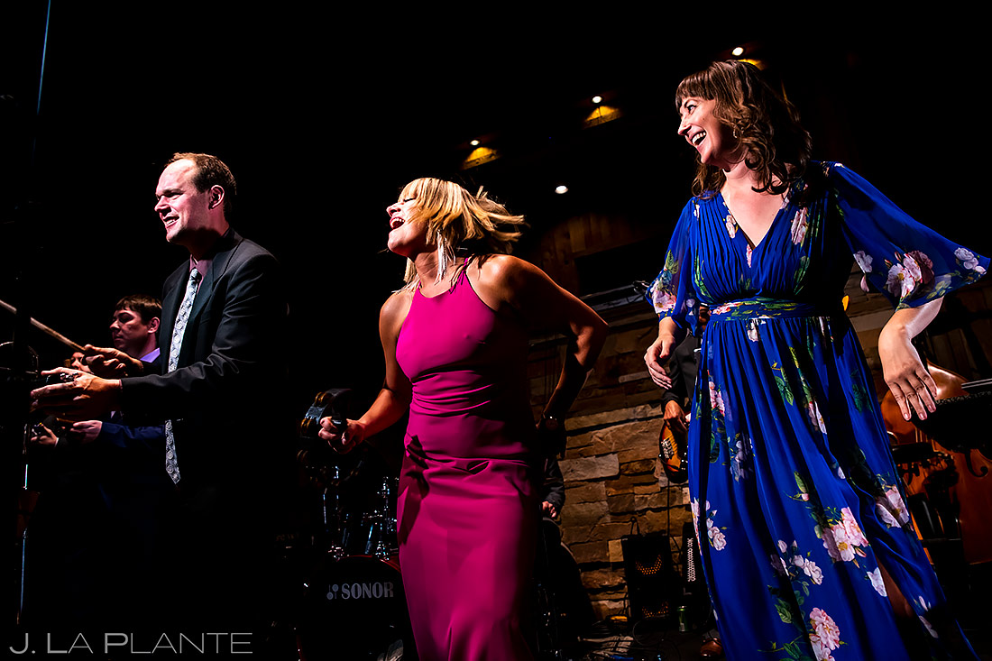 Live wedding band | Spruce Mountain Ranch Wedding | Denver Same Sex Wedding Photographer | J. La Plante Photo