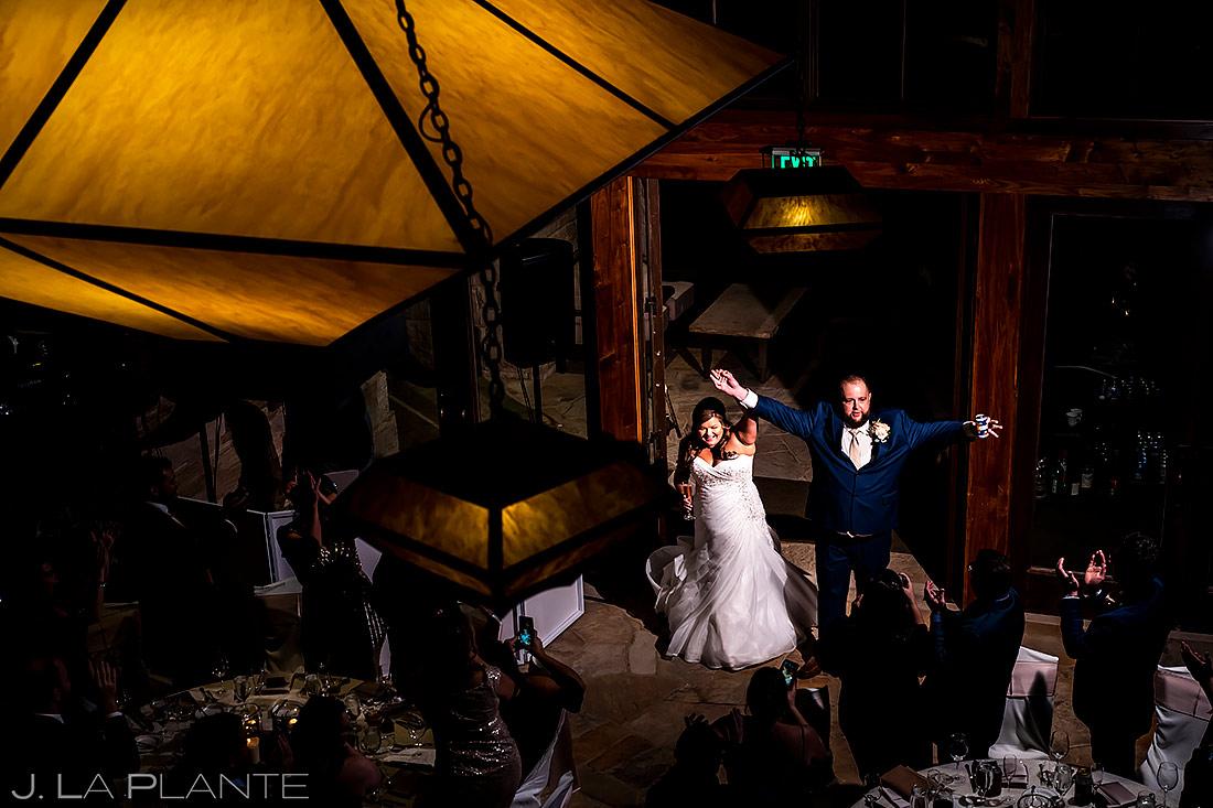 Bride and Groom Entrance | Denver Wedding | Denver Wedding Photographer | J. La Plante Photo