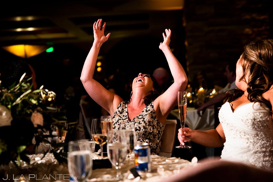 Wedding Toasts | Sanctuary Golf Course Wedding | Denver Wedding Photographer | J. La Plante Photo