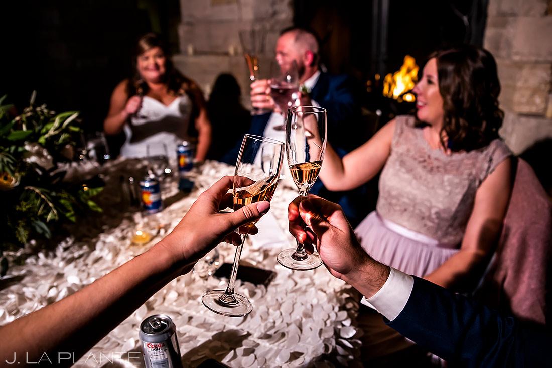 Wedding Toasts | Denver Wedding | Denver Wedding Photographer | J. La Plante Photo