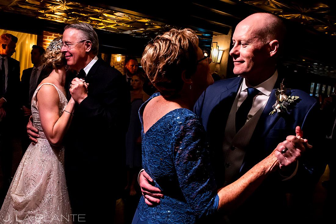 Parent dances | Ironworks Wedding | Denver Wedding Photographer | J. La Plante Photo