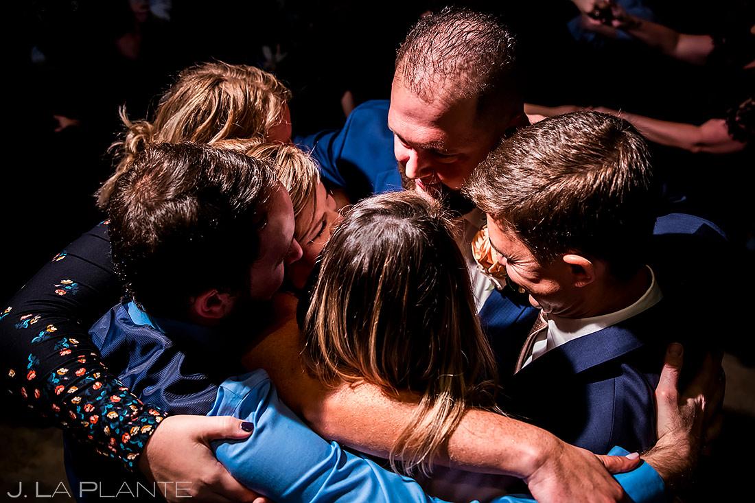 Wedding Reception Dance Party | Sanctuary Golf Course Wedding | Denver Wedding Photographer | J. La Plante Photo