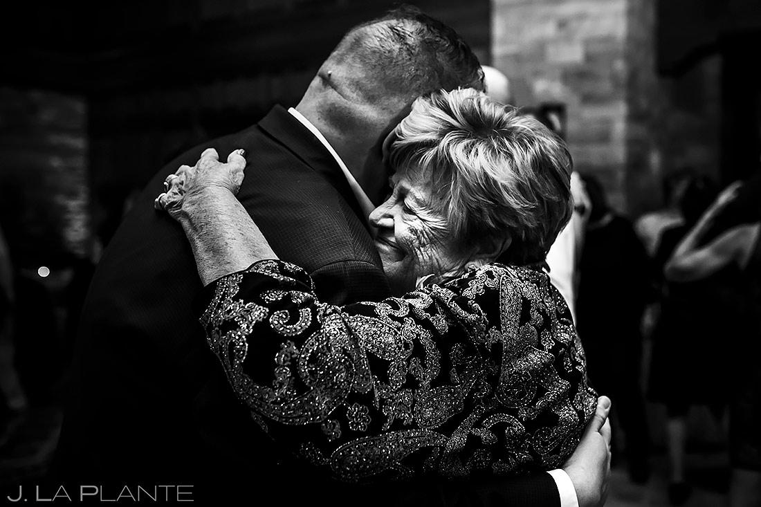 Groom Dancing with Grandmother | Sanctuary Golf Course Wedding | Denver Wedding Photographer | J. La Plante Photo