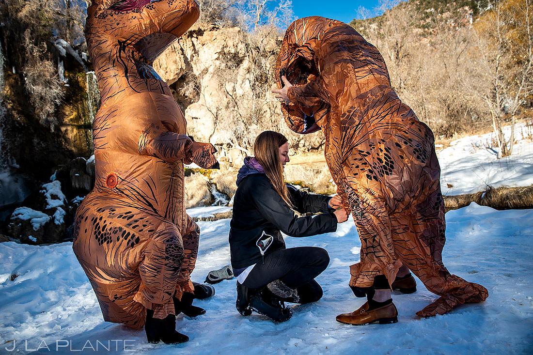Rifle Falls Engagement | Colorado Wedding Photographer | J. La Plante Photo