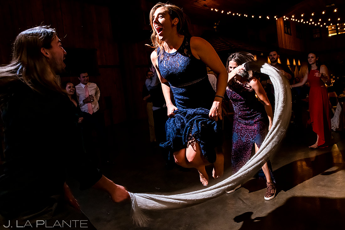 Reception jump rope | Larkspur Wedding | Denver Same Sex Wedding Photographer | J. La Plante Photo