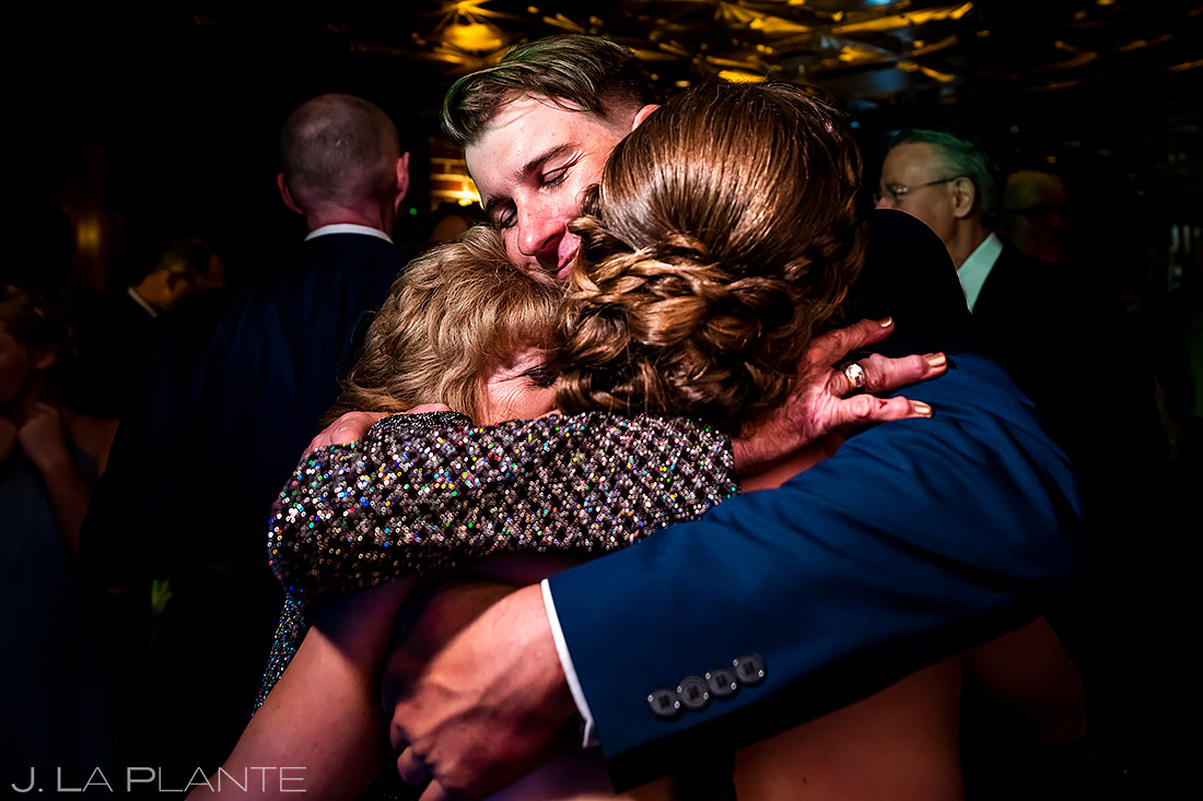 Wedding guests on dance floor | Ironworks Wedding | Denver Wedding Photographer | J. La Plante Photo