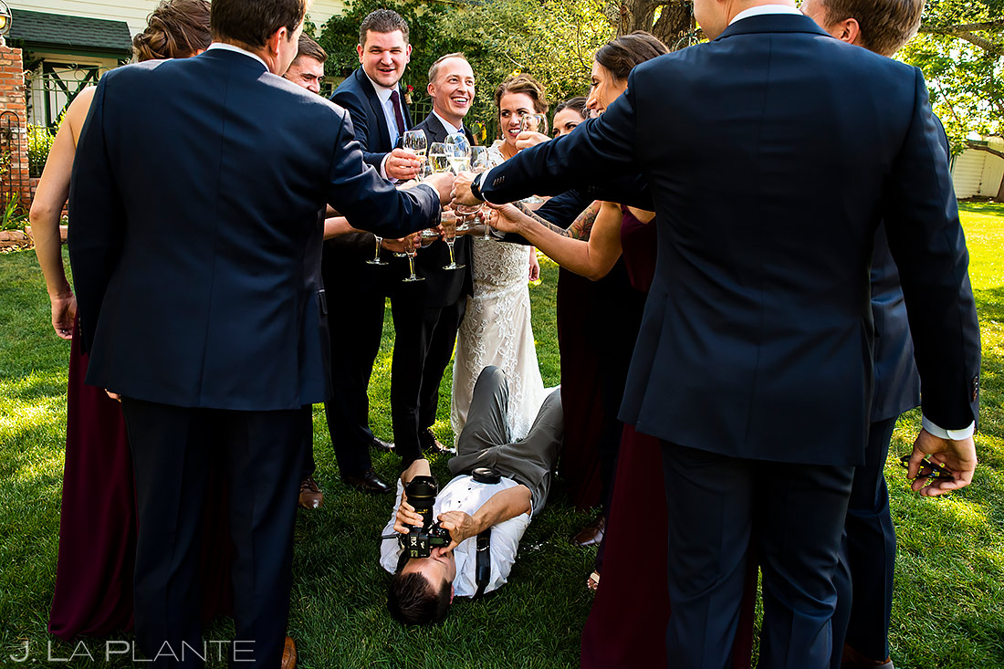 Wedding Photographers at Work | Lionsgate Wedding | Boulder Wedding Photographer | J. La Plante Photo