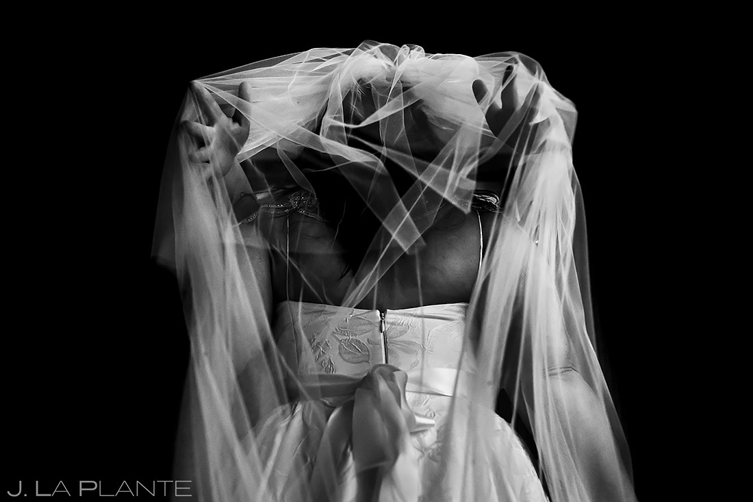 Bride Getting Ready | Grand Hyatt Denver Wedding | Denver Wedding Photographer | J. La Plante Photo