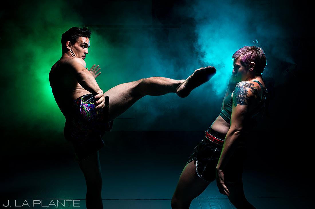 MMA Promo Shoot | Denver MMA Gym | Denver Portrait Photographer | J. La Plante Photo