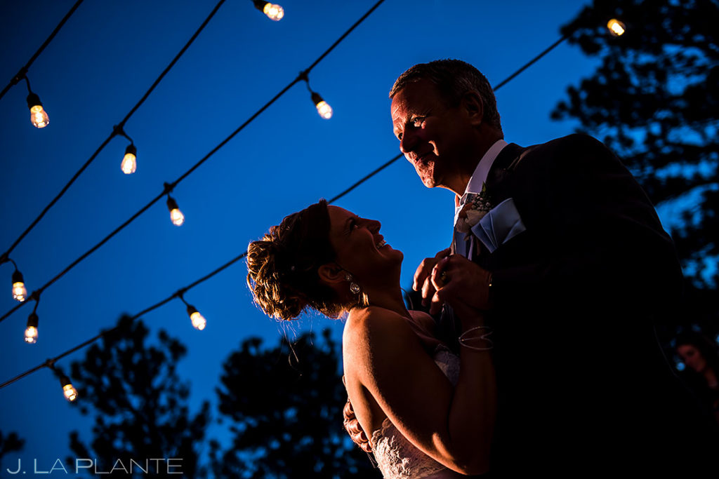 Father Daughter Dance | Boettcher Mansion Wedding | Golden Wedding Photographer | J. La Plante Photo