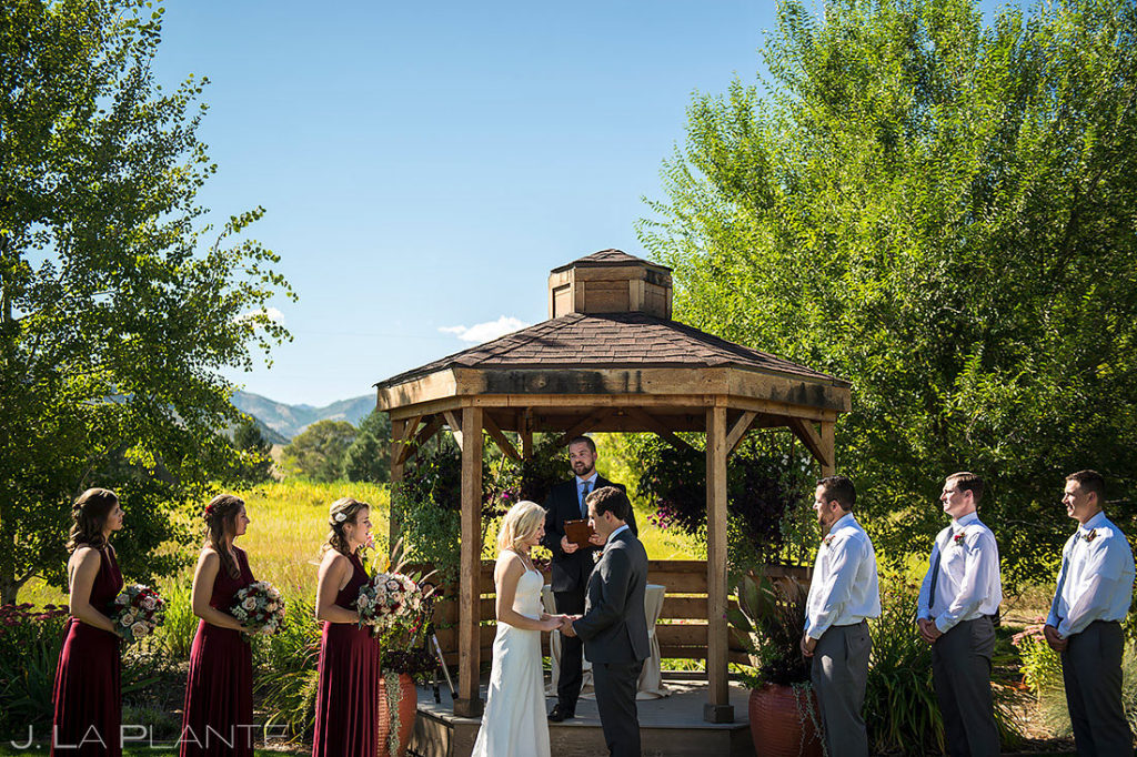 Rustic Wedding Ceremony | Chatfield Farms Wedding | Denver Wedding Photographer | J. La Plante Photo