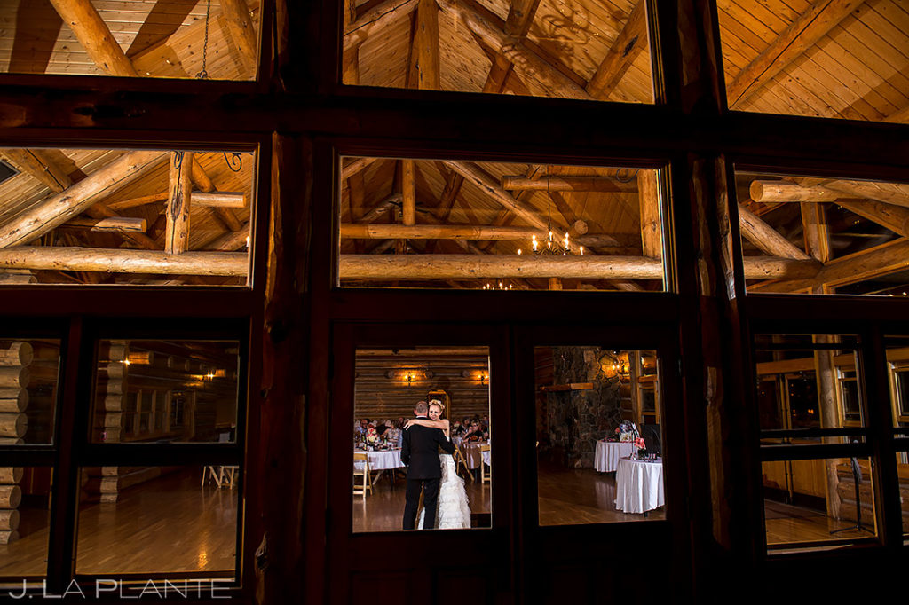 Bride and Groom First Dance | Evergreen Lake House Wedding | Evergreen Wedding Photographer | J. La Plante Photo