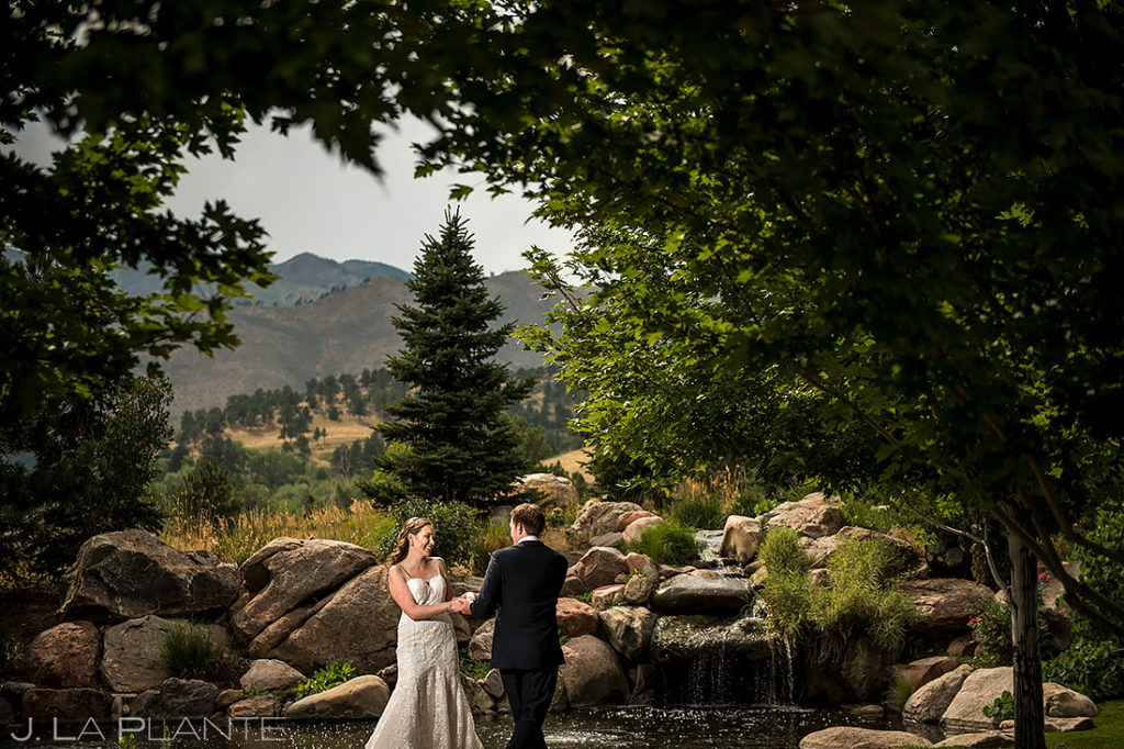 Bride and Groom Dancing | Greenbriar Inn Wedding | Boulder Wedding Photographer | J. La Plante Photo