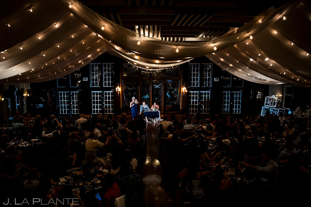 Maid of Honor Speech | Lionsgate Wedding | Boulder Wedding Photographer | J. La Plante Photo