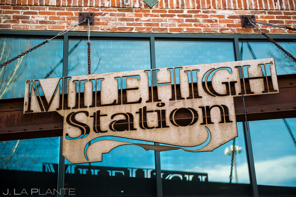 Unique Wedding Details | Mile High Station Wedding | Denver Wedding Photographer | J. La Plante Photo