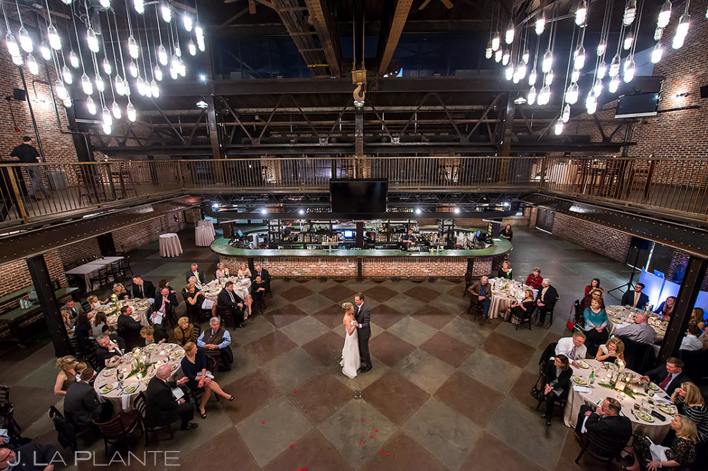 Bride and Groom First Dance | Mile High Station Wedding | Denver Wedding Photographer | J. La Plante Photo