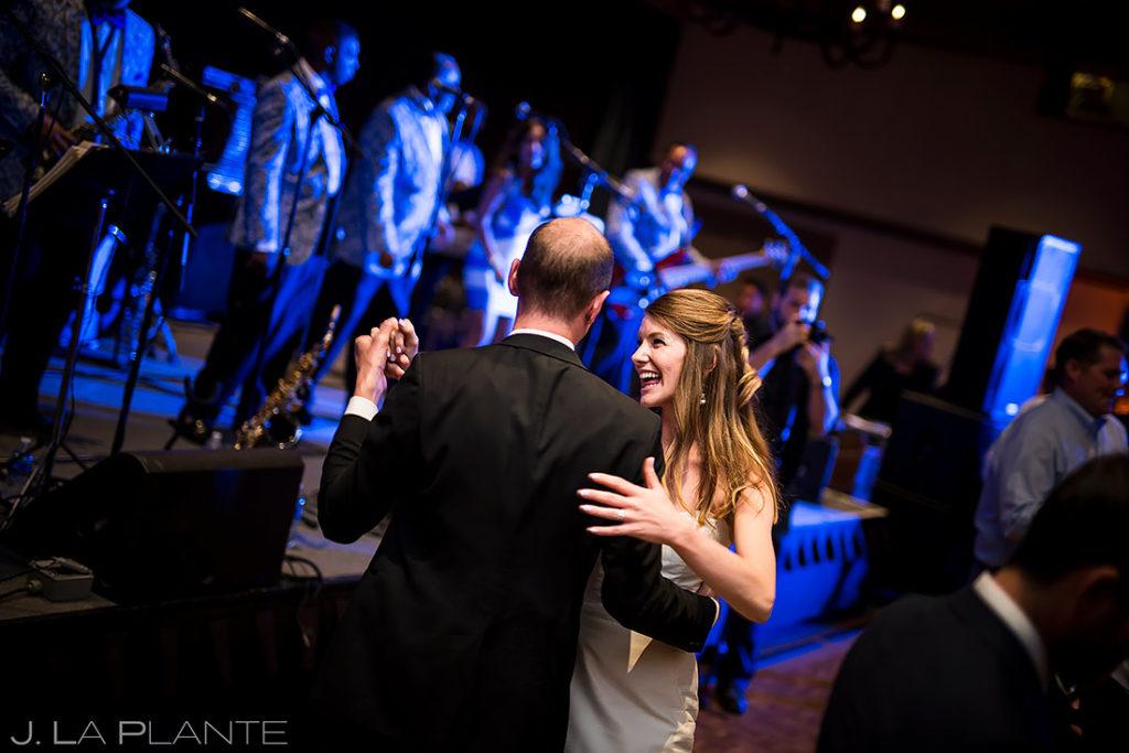 Father Daughter Dance | Park Hyatt Beaver Creek Wedding | Beaver Creek Wedding Photographer | J. La Plante Photo