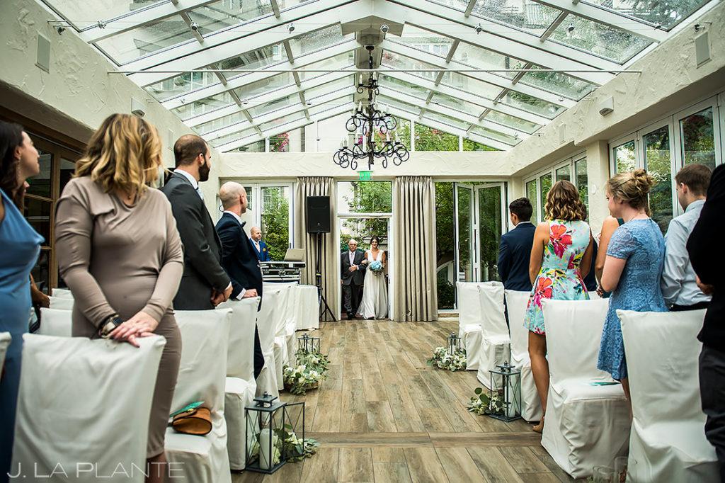 Vail Wedding Ceremony | Sonnenalp Hotel Wedding | Vail Wedding Photographer | J. La Plante Photo