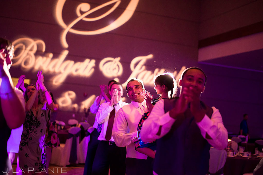 Groom Dancing | Wildlife Experience Wedding | Denver Wedding Photographer | J. La Plante Photo