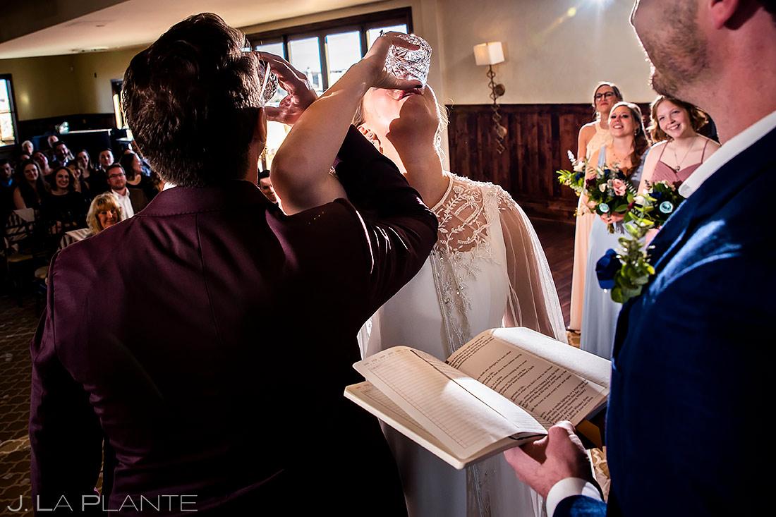 Colorado Wedding Ceremony | Urban Wedding | Colorado Springs Wedding Photographer | J. La Plante Photo