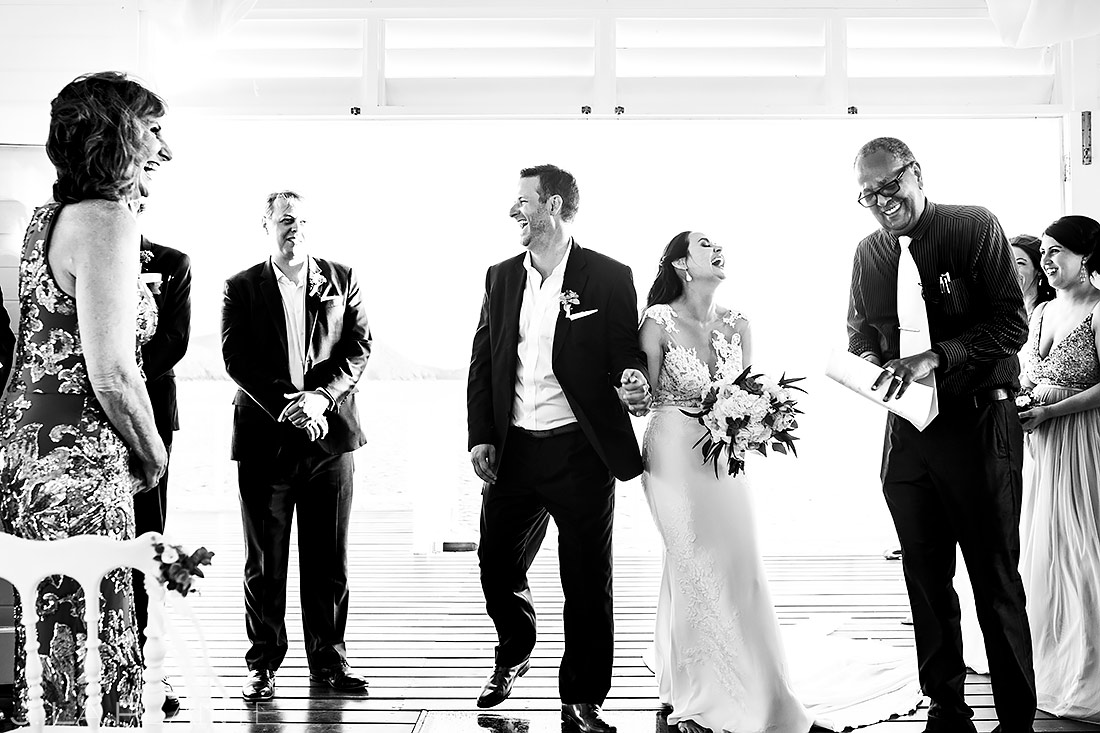 Beach Wedding Ceremony   St. Lucia Wedding   Destination Wedding Photographer   J. La Plante Photo