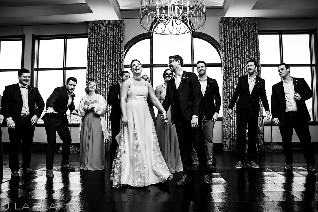 Wedding Party Photo | Pinery at the Hill Wedding | Colorado Springs Wedding Photographer | J. La Plante Photo
