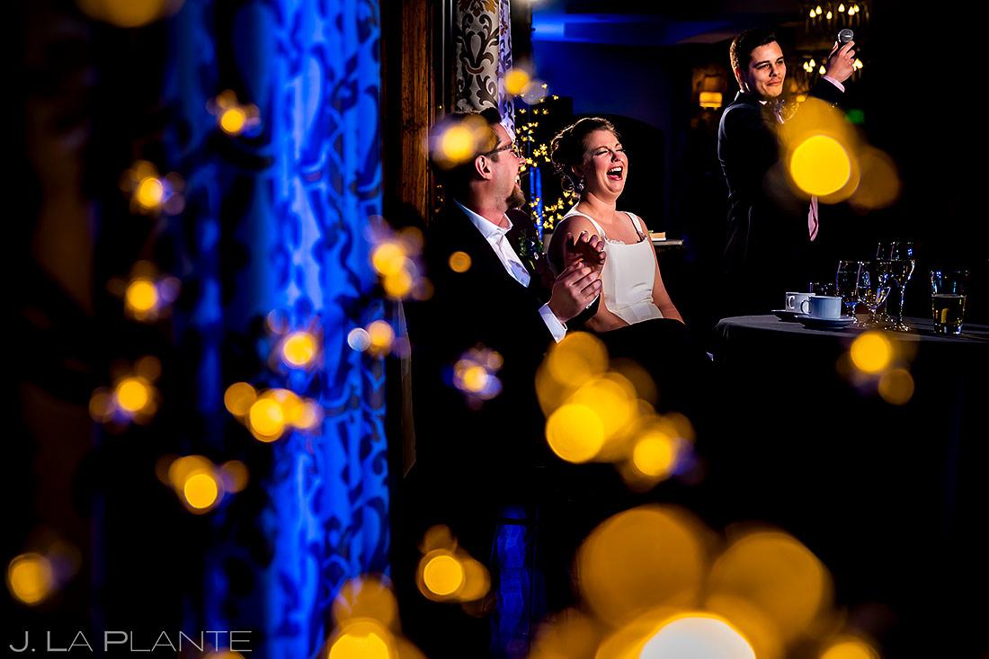 Wedding Toasts | Urban Wedding | Colorado Springs Wedding Photographer | J. La Plante Photo