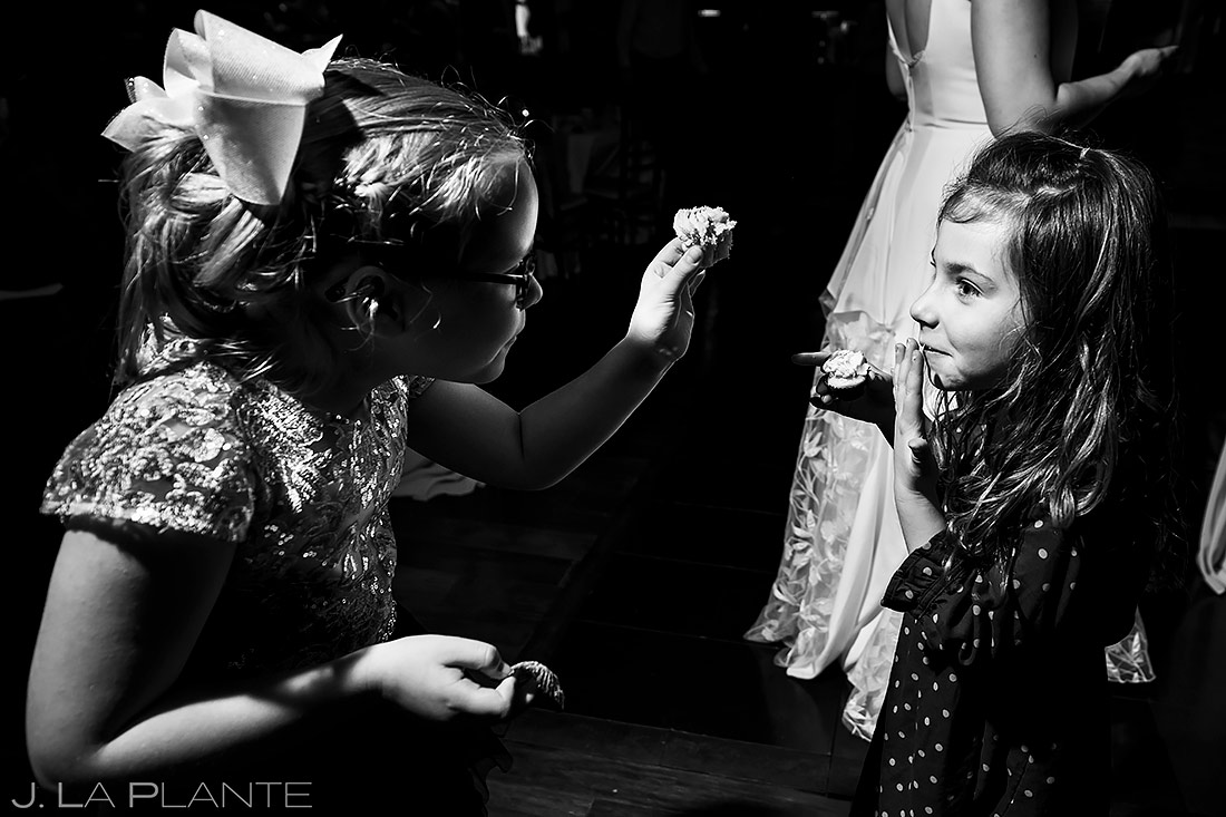 Funny Kids at Weddings | Pinery at the Hill Wedding | Colorado Springs Wedding Photographer | J. La Plante Photo
