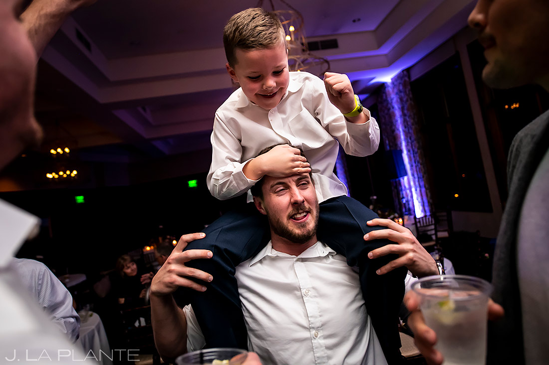 Wedding Reception Dance Party | Pinery at the Hill Wedding | Colorado Springs Wedding Photographer | J. La Plante Photo