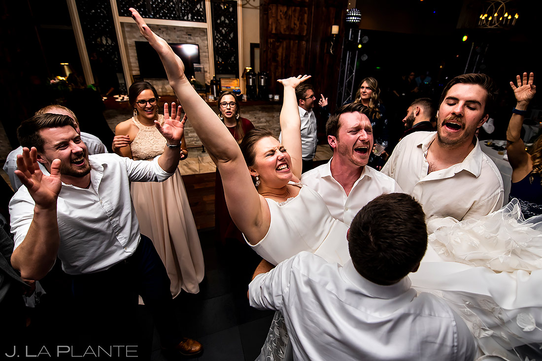 Wedding Reception Dance Party | Urban Wedding Wedding | Colorado Springs Wedding Photographer | J. La Plante Photo