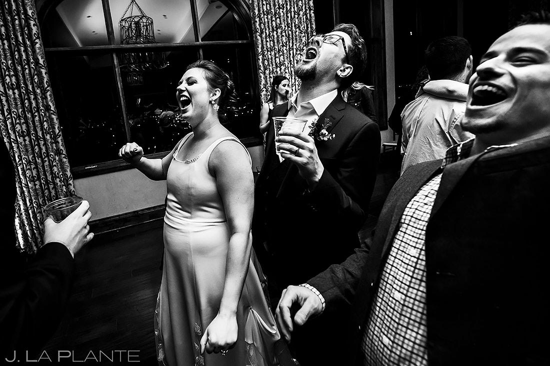 Wedding Reception Dance Party | Urban Wedding | Colorado Springs Wedding Photographer | J. La Plante Photo