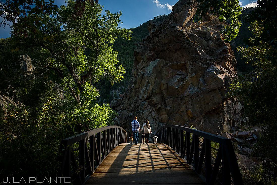 Engagement Shoots with Dogs | Boulder Engagement | Boulder Wedding Photographer | J. La Plante Photo