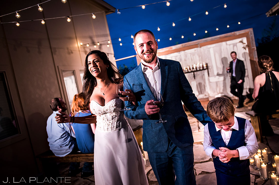 Blue Hour Wedding Ceremony | Fortunata Winery Wedding | Dallas Wedding Photographer | J. La Plante Photo