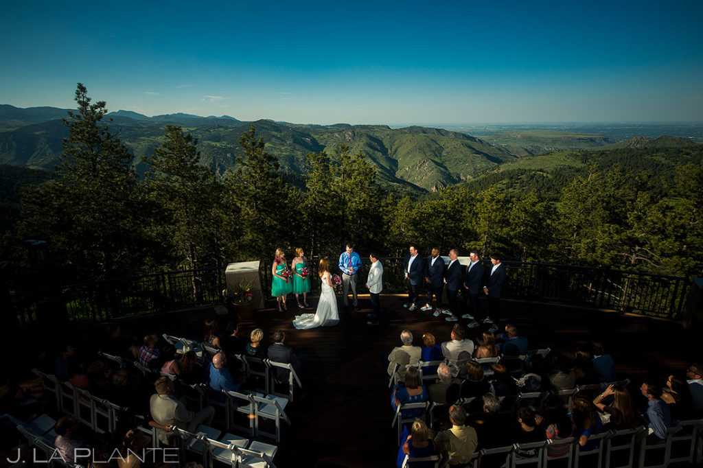 Mount Vernon Canyon Club wedding ceremony
