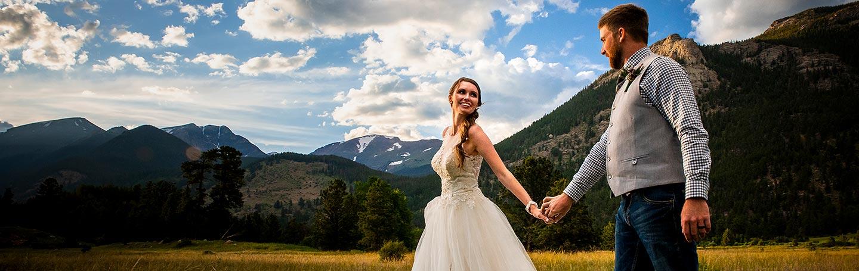 3M curve elopement | estes park elopement photographers