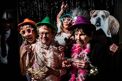 stanley hotel wedding photo booth | best colorado wedding vendors