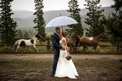 devil's thumb ranch wedding rentals