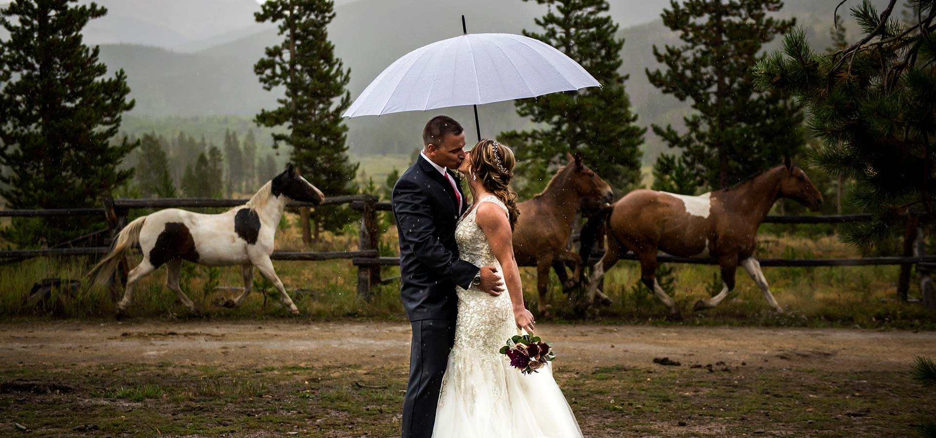 the best Colorado wedding rentals companies in Winter Park Colorado