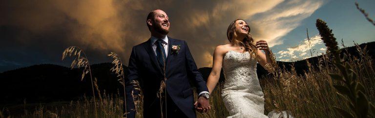 How to Get Epic Sunset Wedding Photos