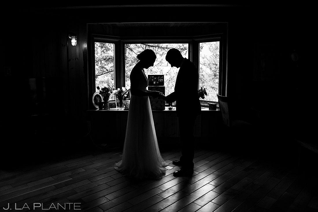 couple during colorado elopement