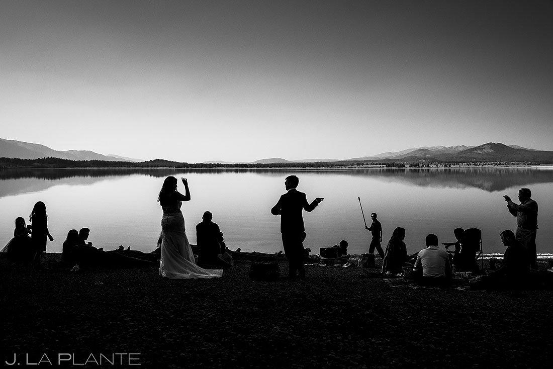 grand teton elopement at jackson lake