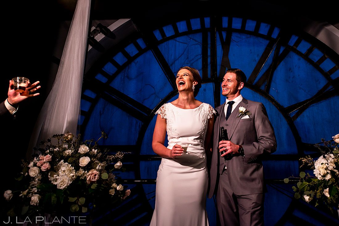 denver clock tower wedding toasts