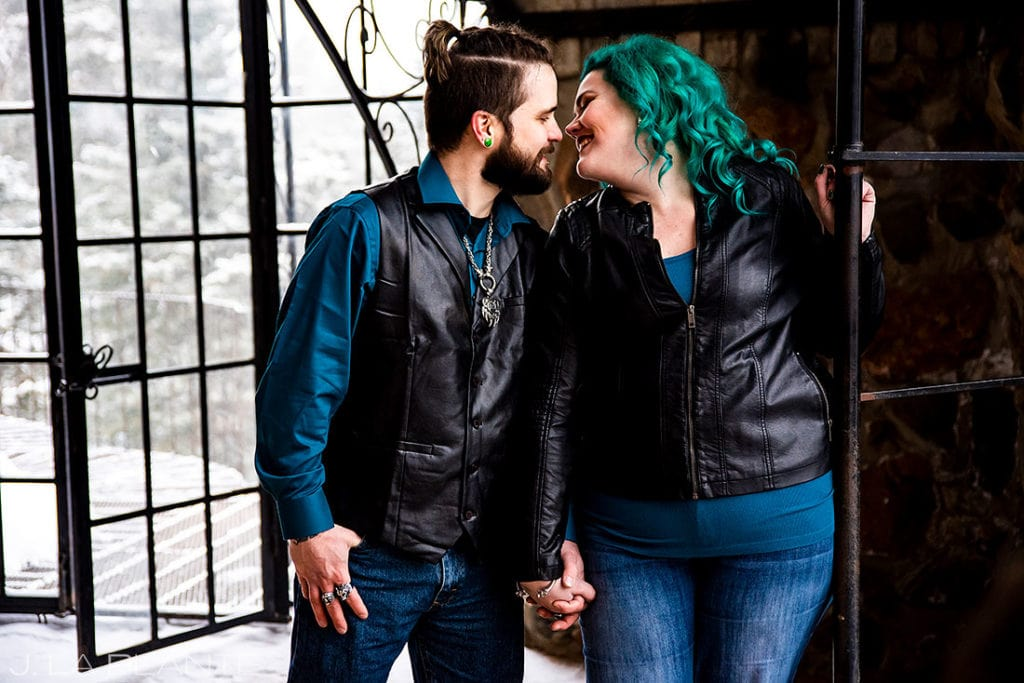alternative engagement session in southern colorado