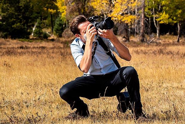 estes park wedding photographer at della terra wedding