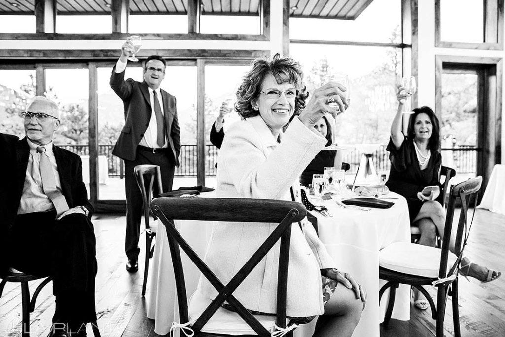 wedding guests at Black Canyon Inn wedding