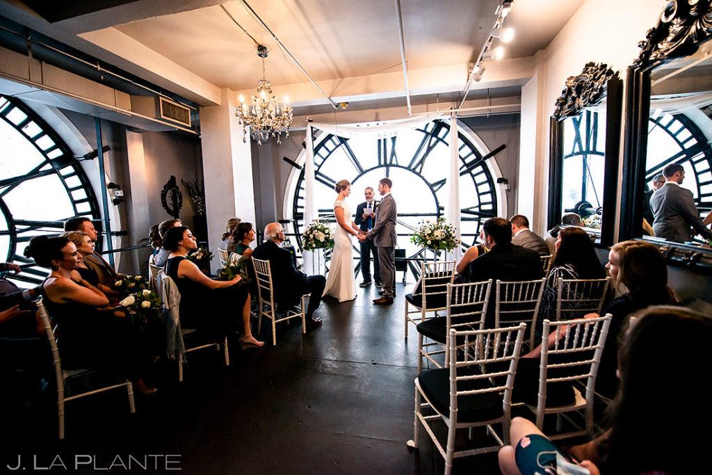 denver clock tower wedding ceremony