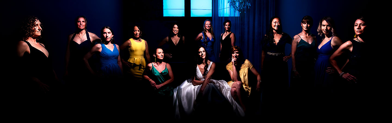 wedding photo inspiration cool photo of bridesmaids