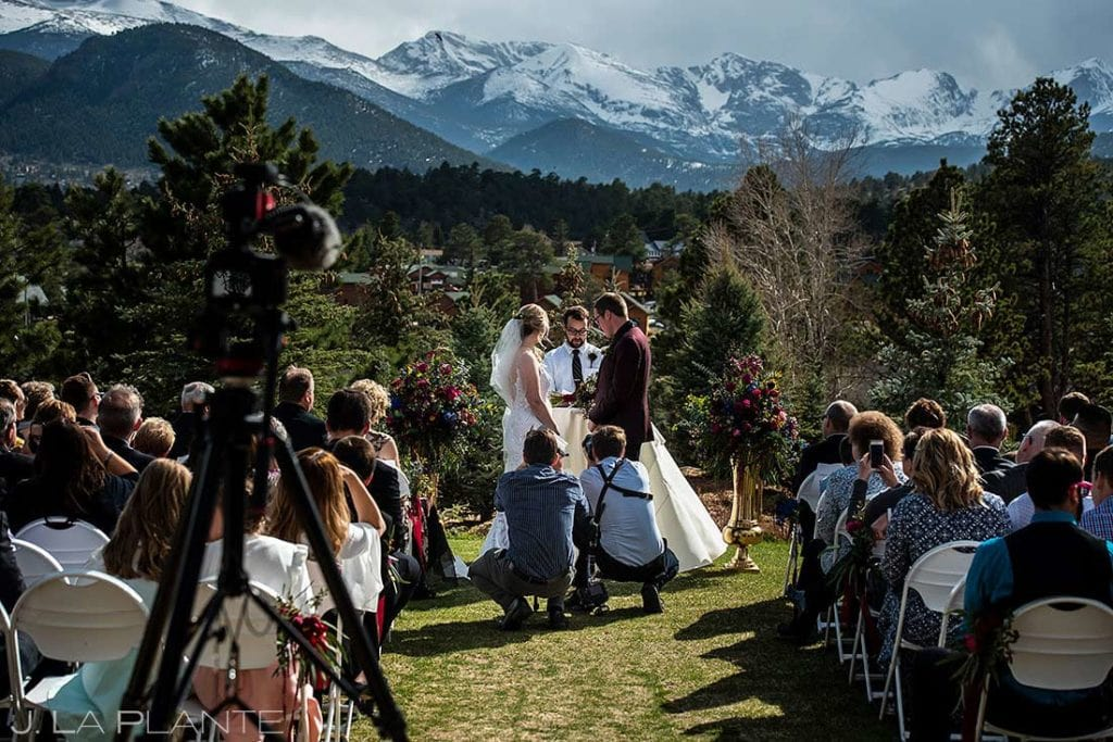 should we hire a videographer for our wedding Stanley Hotel wedding